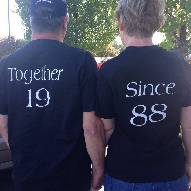 Anniversary shirts,Together Since tee,couples t shirts,wedding date shirts,anniversary date top,anniversary gift,personalized t shirt by ElainesCrafts on Etsy