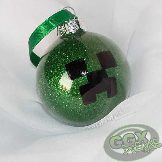 Creeper Themed Ornament by GGXDesigns on Etsy, $3.50