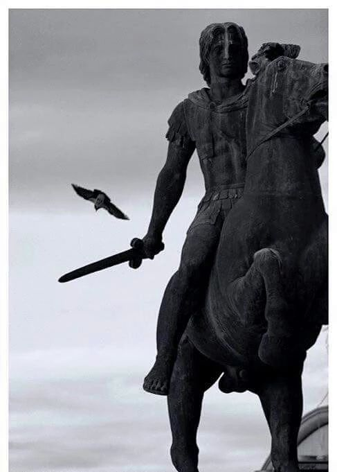 ALEXANDER THE GREAT | Famous Statue in Thessaloniki, historical Macedonia, northern Greece