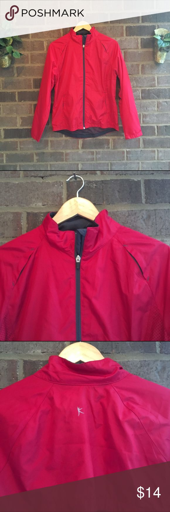 💋BOGO Danskin Red Waterproof Jacket This lightweight waterproof jacket is perfect for springtime runs. Has reflective stripes and a lightweight lining. Clean lines make for a streamlined look. 50038 🏹 Danskin Jackets & Coats