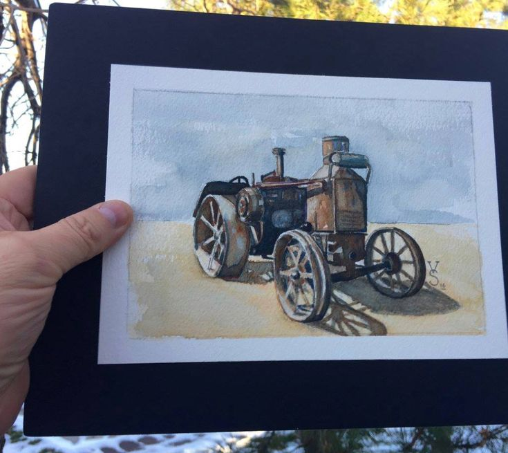 """""""Rumely Oil Pull"""" Circa Late 20s"""