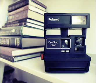 Polaroid One-Step Camera- I think my dad bought film for this once because it was so expensive. We have about 20 pics from childhood only. Lol