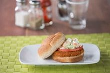 MorningStar Farms® Buffalo Chik Patties® with Blue Cheese Slaw Recipe