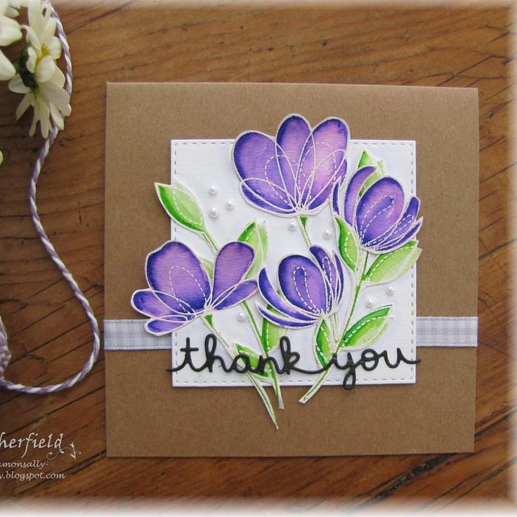 """20 Likes, 4 Comments - Sally Sherfield (@sallys_cards) on Instagram: """"More fun with my Simon Says """"Spring Flowers """" love this stamp set @simonsaysstamp #cardmakinghobby…"""""""