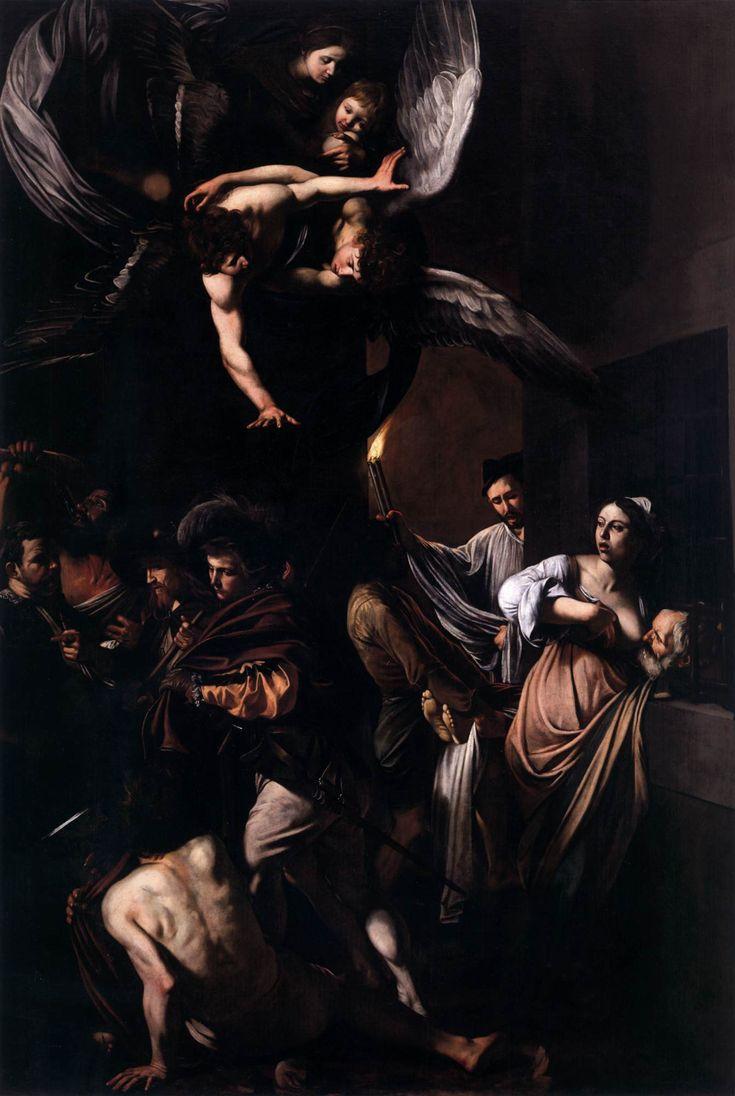 Caravaggio, The Seven Acts of Mercy c. 1607 Oil on canvas, 390 x 260 cm Pio Monte della Misericordia, Naples