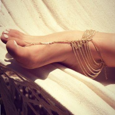 Fashion Multi-layered Gold Metal Body Chain @iamalovelywoman