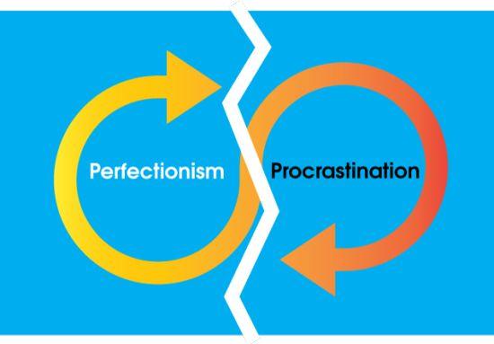 #Procrastination #Travail #Work Les 3P de la non-productivité : Perfectionnisme, procrastination et paralysie.