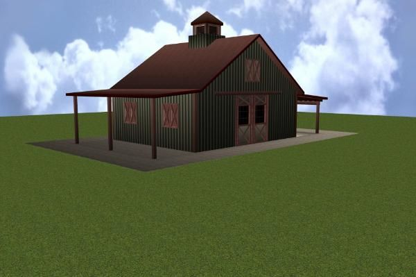 Stall horse barn plan barn home pinterest for 8 stall barn plans