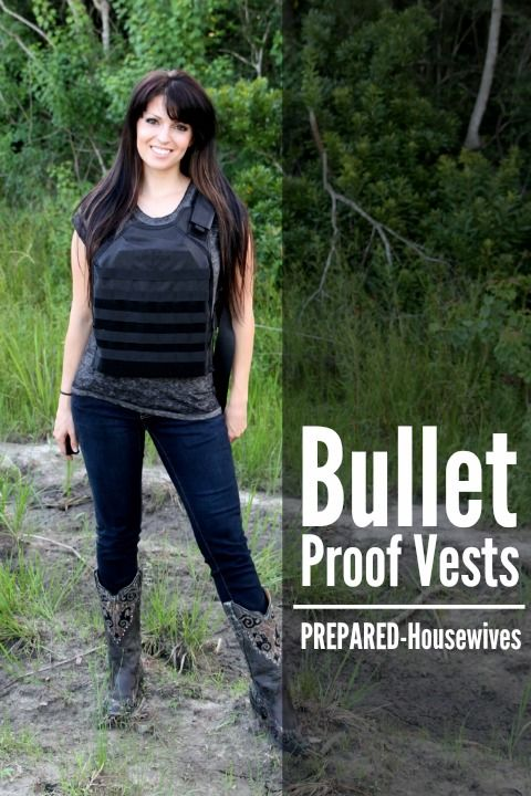 Have you ever considered getting a bullet proof vest? Here are some things you should know before getting one. | Prepared-Housewives.com #bulletproof #emergencypreparedness