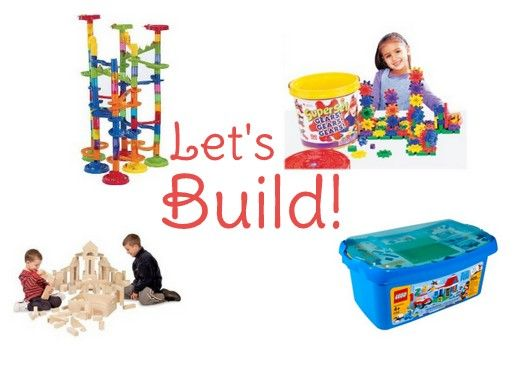 Batteries Not Included:  Gifts for Kids that Ignite the Imagination - Four categories full of ideas:  Let's Build, Let's Read, Let's Pretend, Let's Create!