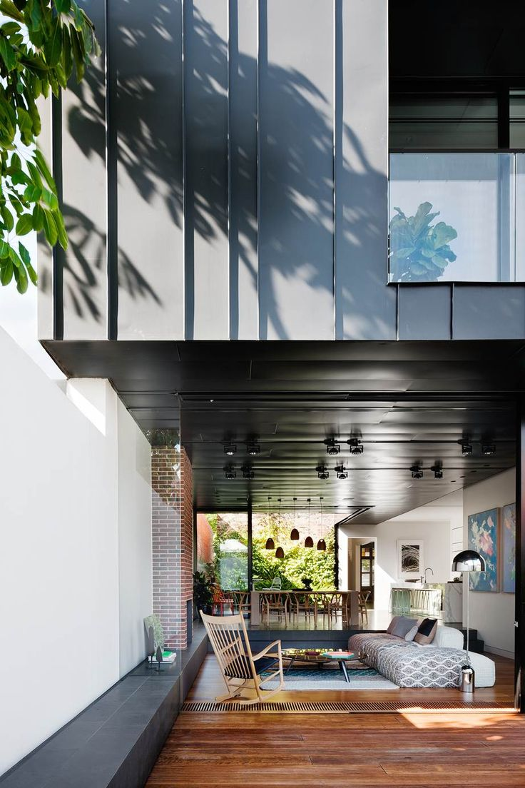 It took a brave architect to restore and extend this 19th century Melbourne home. Step inside the ultra-modern addition and see how he did it.