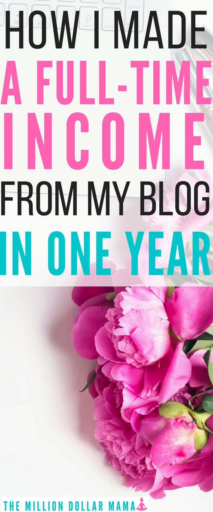 Want to know how to make money blogging? In one year, I've gone from being a SAHM making almost nothing to making a full time income from home, simply by blogging. Click through to my best tips and advice on how you can start a profitable blog, too.