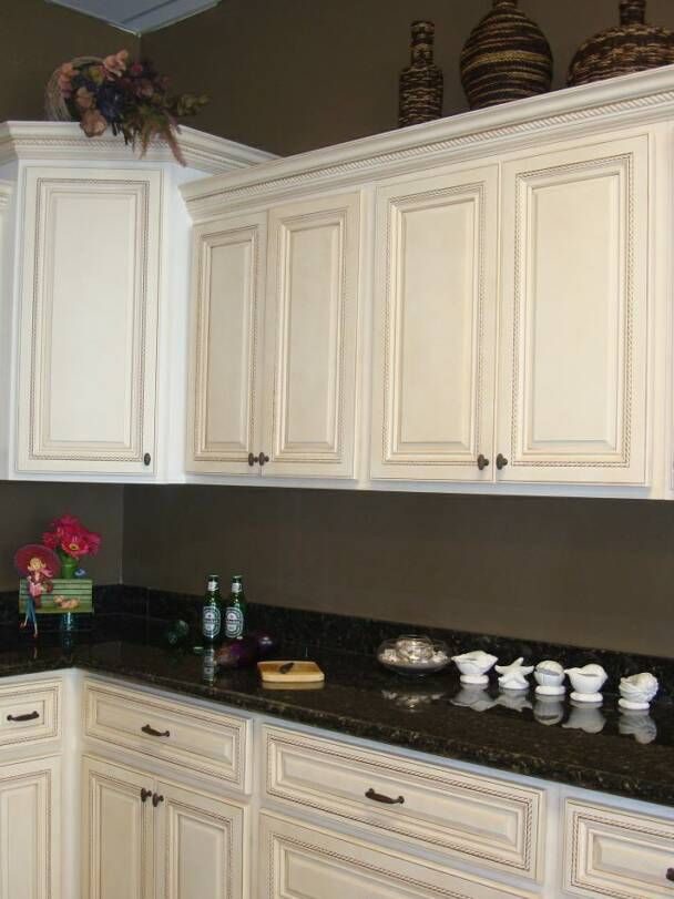 17 best ideas about metal kitchen cabinets on pinterest for Antique white kitchen cabinets photos
