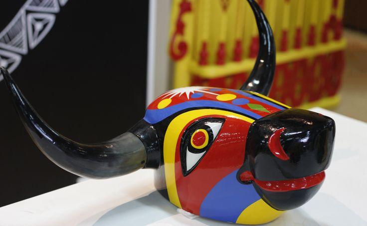 Colombia Artesanal: Máscaras del Carnaval, Máscara toro