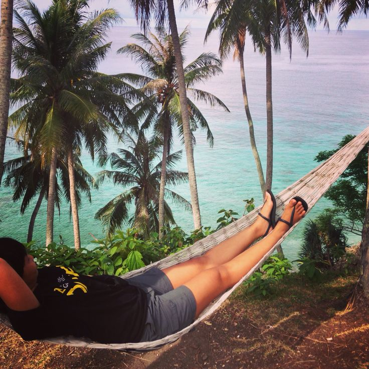 Lay in my back. Sumur tiga beach-Sabang