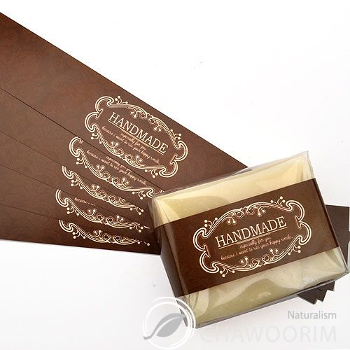 Soap Packaging Ideas | ... Brown Label for Soap Baking Candle Multi Purpose Gift Packaging | eBay