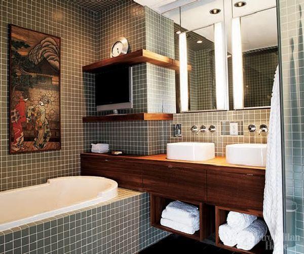 small bathroom idea (?)