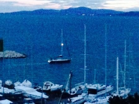 setting off to Antibes from Punta Ala - Tuscany