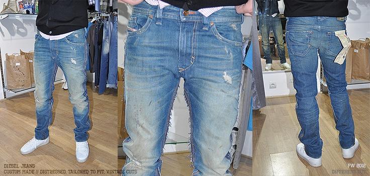 ✂ Diesel jeans custom-made (vintage cuts, tailored fit)