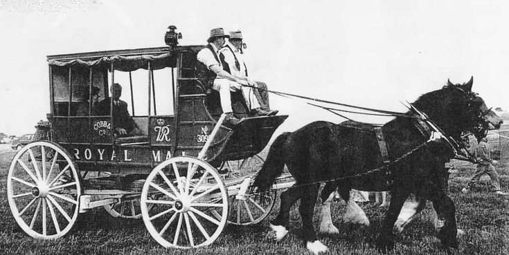 Cobb & Co coach late 1800's