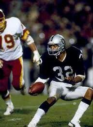 Marcus Allen Los Angeles Raiders Oakland Raiders Silver and Black Heisman Trophy Winner
