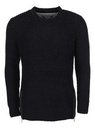 ONLY & SONS - Černý pletený svetr  Glenn - 1
