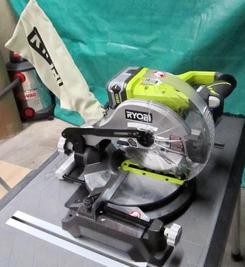 Ryobi 18-Volt 7-1/4 in. Miter Saw P552 at The Home Depot - Mobile