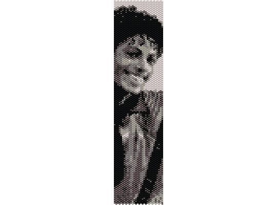 Schema peyote Michael Jackson, Thriller2 (PDF per bracciale) di AntosCreations su Etsy