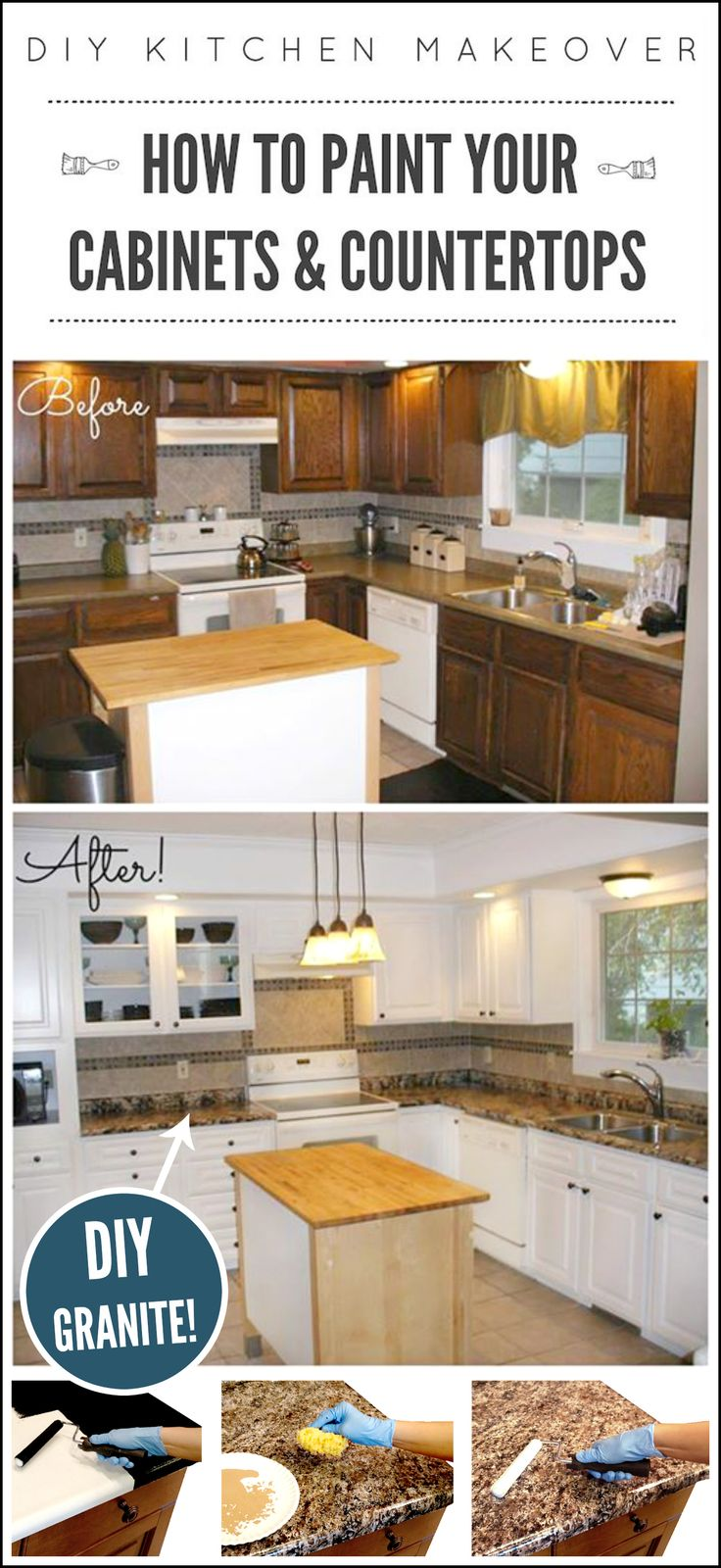 36 best DIY Marble images on Pinterest | Countertop paint, Kitchen ...