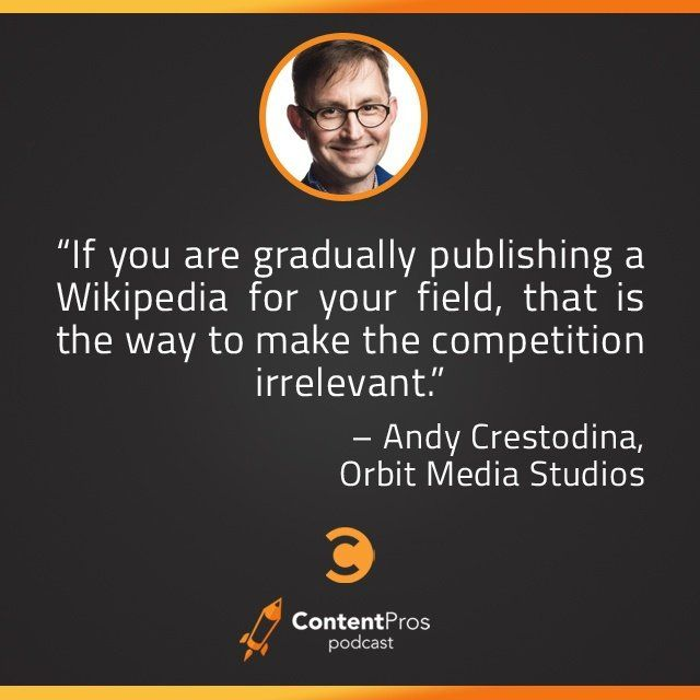 """Andy Crestodina, Chief Marketing Officer of Orbit Media, a web design company in Chicago, talks everything from the do's and don'ts of web design to tips for quality content creation to the value of that """"missing stat."""""""
