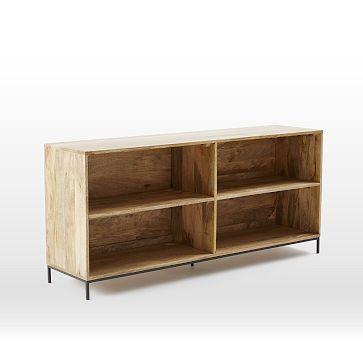 Rustic Modular Bookcase #westelm