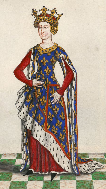 Isabella of valois duchess of bourbon fleur de lis for Life fashion bremen