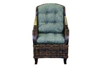 Lawson Wingback Occasional Chair Croco Syprus Black 181