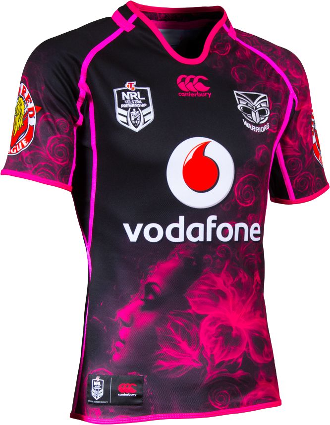2014 Vodafone Warriors Ladies Women in League Jersey