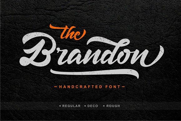 Brandon by Jamalodin on @creativemarket
