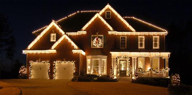 all white lights