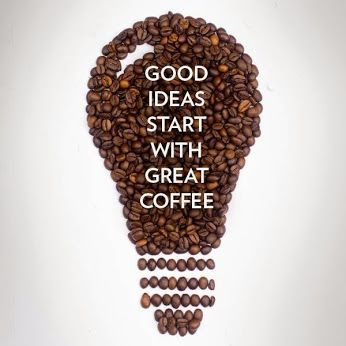 Good ideas always start first with a fresh cup of coffee and fellow Coffee Lovers. Haters do not understand this concept. Haters are mean morning people who wish he or she drank coffee to be happy. ~Me  #coffee #coffeelovers #Coffeetime