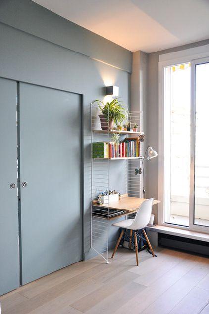 Contemporain Bureau à domicile by architecte d'intérieur CFAI