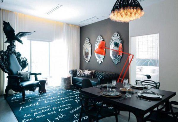 Интерьеры от легендарного дизайнера Филиппа Старка :: Фото красивых интерьеров