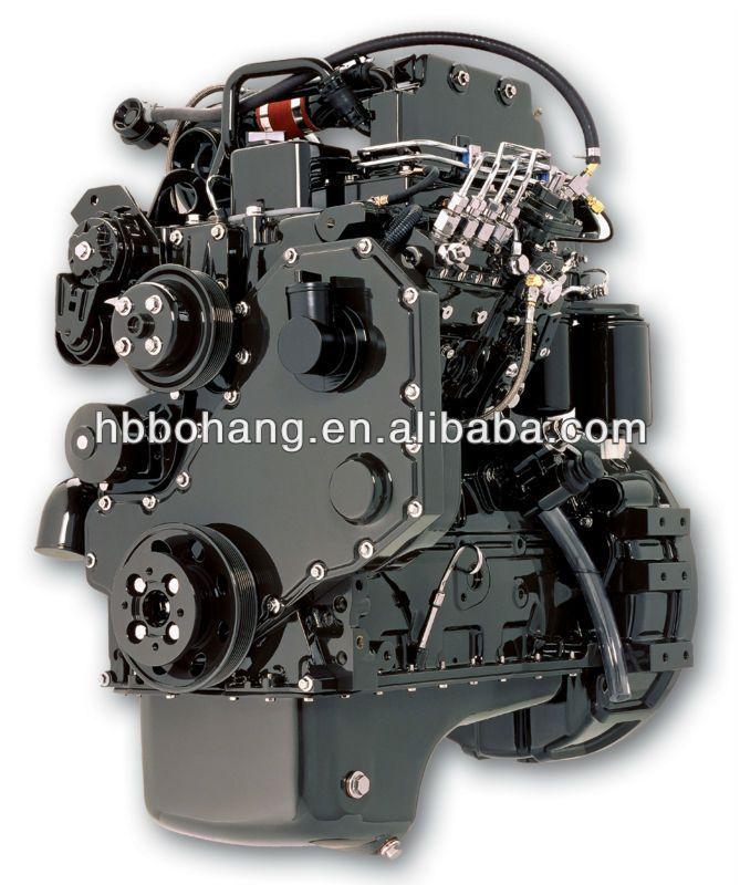 Diesel Engine 4 stroke/4 cylinder/3.9L Dongfeng Cummins Diesel Engine B series 4BT/4BTA/4BTAA