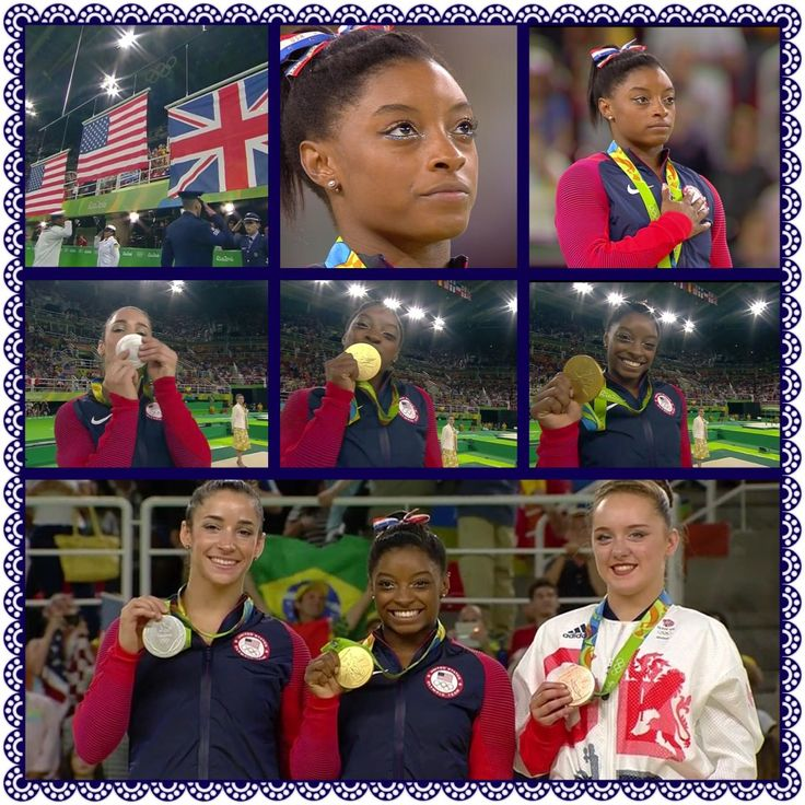 GOLD & SILVER For USA! Floor Exercise Final: 1. Simone Biles 15.966; 2. Aly Raisman 15.500; 3. Bronze for GBR's Amy Tinkler 14.933 ... 8/16/16