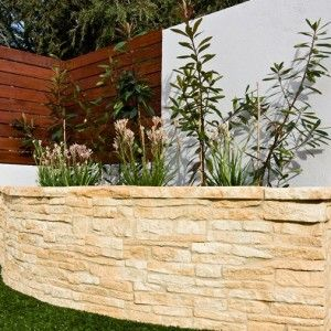 Hadrian Wall retaining wall blocks - Curved Wall Set