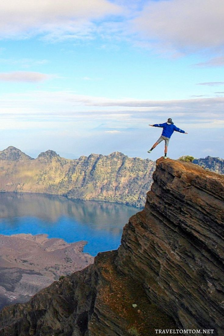 This picture seems another crazy move but adrenaline is what makes me happy and feel alive and that is exactly how I felt when I saw the outcome of this picture on the crater rim of Mt. Rinjani! Indonesia I am not yet done with you and I cant wait to hear our itinerary!