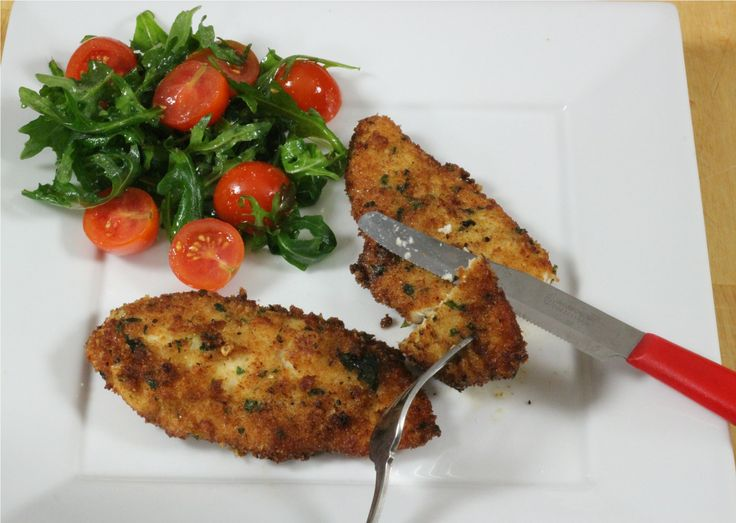 Nonna's Chicken Cutlets... she can never make enough of these!