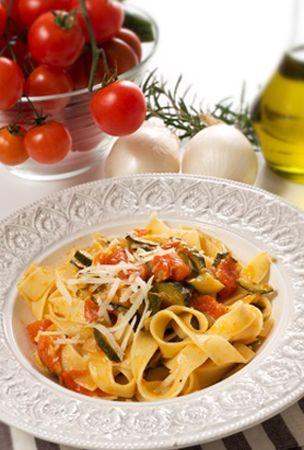 Tagliolini aux légumes