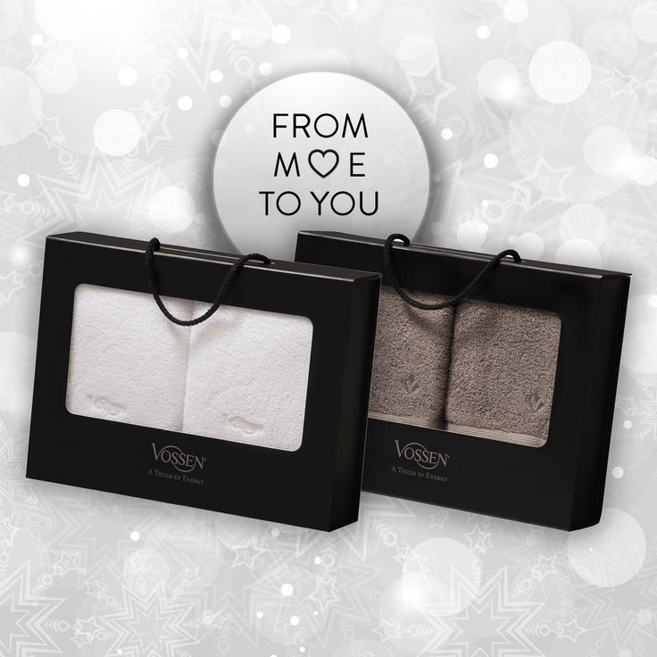 Das perfekte Geschenk! #vossentowels #towels #gift #lovely #giftbox #onlineshop #frommetoyou