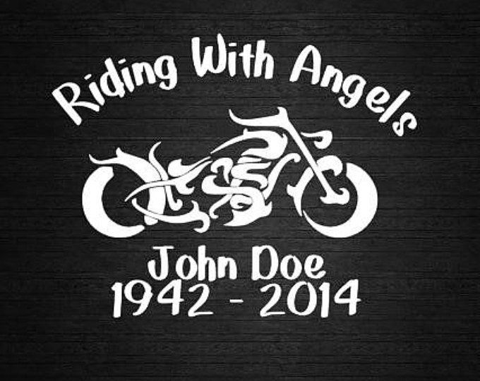 Angel Heart Wings In Memory Of Personalize Vinyl Decal Car Etsy Personalized Vinyl Decal Memorial Decals Car Decals Vinyl