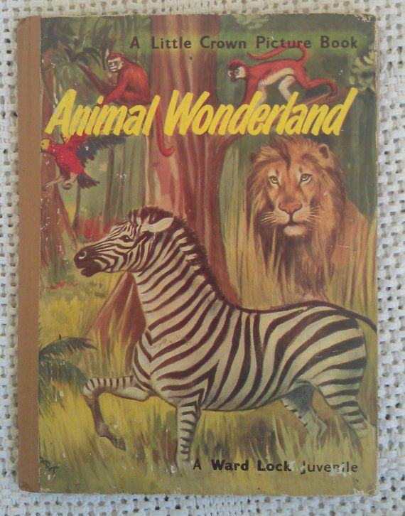 Animal Wonderland. By David Stonebridge. A by avintagesparrowsnest, $12.00