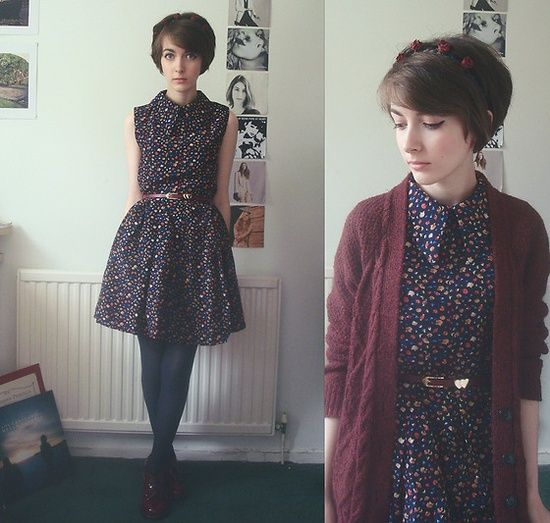 Dress, Topshop Cardigan