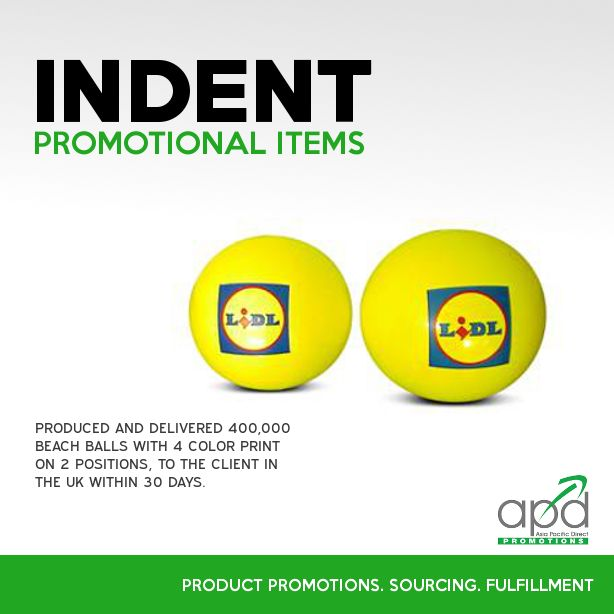 ummer is here! And it is not too late to get the best and affordable summer promotional items this season through indent. Call us at 1300-795-APD for more information.